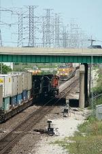 BNSF 4435